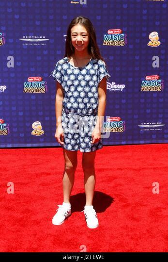 Aubrey Anderson-Emmons at arrivals for Radio Disney Music Awards - ARRIVALS 2, Microsoft Theater, Los Angeles, CA - Stock-Bilder