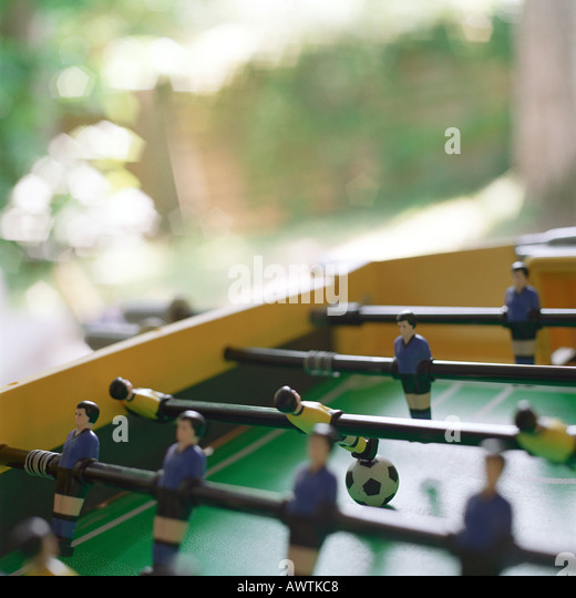 Foosball table - Stock-Bilder
