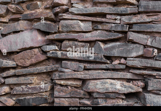 Red Shale Stone : Shale stone stock photos images alamy