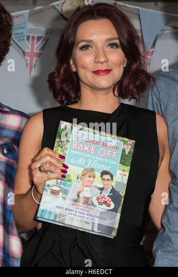 London, UK. 27 October 2016. Pictured: Series 2016 winner Candice Brown. The Great British Bake Off finalists Jane - Stock Image