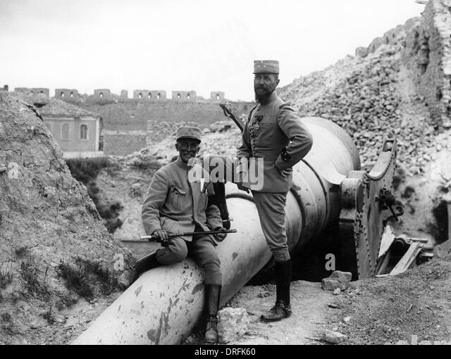 General Gouraud and General Bailloud, Turkey - Stock Image