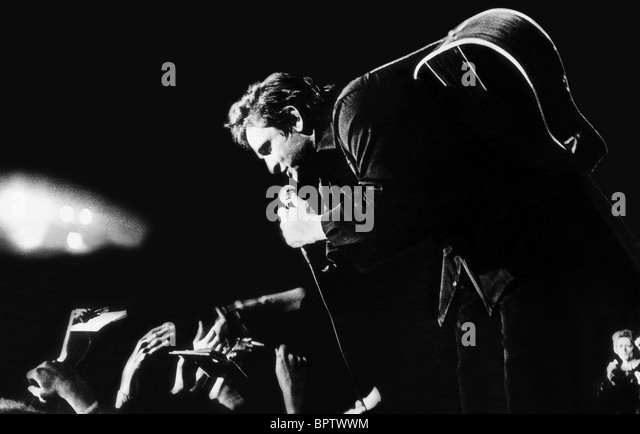 JOHNNY CASH COUNTRY SINGER (1972) - Stock Image