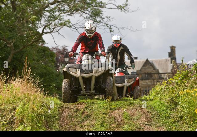 Quad Biking - Stock Image