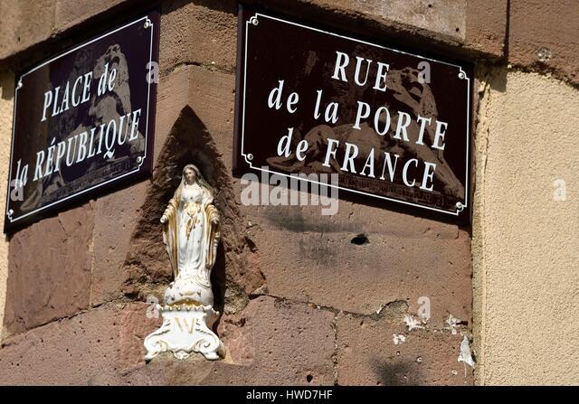 France territoire de belfort old stock photos france for Porte de garage territoire de belfort