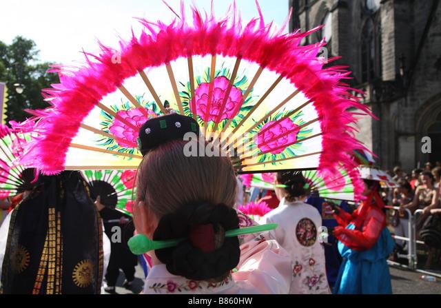 Berlin Kaneval Der Kulturen Carnival Of Cultures - Stock-Bilder