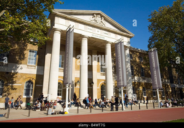 The New Saatchi Art Gallery in Chelsea London - Stock Image