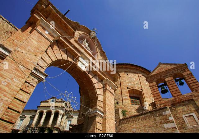 Penne, Italy. - Stock-Bilder