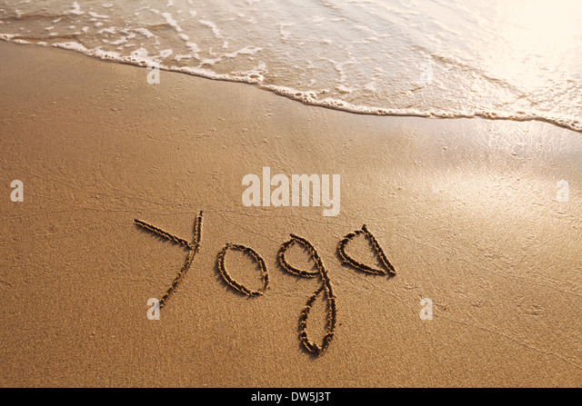 yoga concept - Stock Image