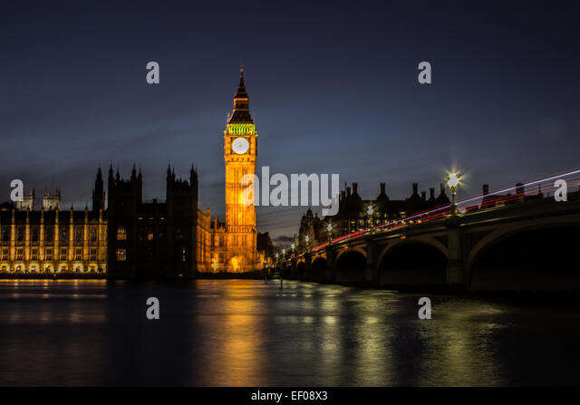 Westminster Bridge - Stock Image
