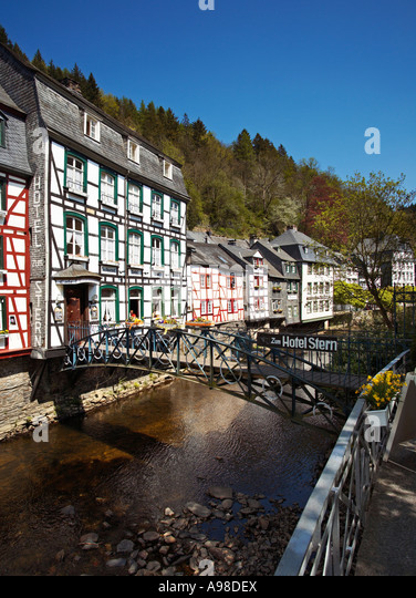 Rur river stock photos rur river stock images alamy for Hotels in eifel germany