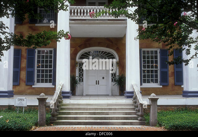 Battle-Friedman House (1835), Tuscaloosa, Alabama, USA - Stock Image