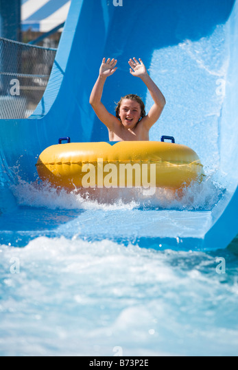 Boy Child Kid Innertube Stock Photos Boy Child Kid Innertube Stock Images Alamy
