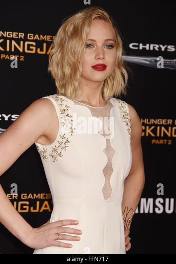 Jennifer Lawrence, 16.11.2015 - Stock Image