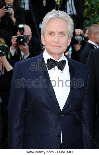michael douglas,66° Festival di Cannes - Stock Image