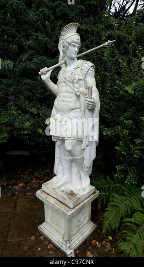 Roman Soldier Statue Stock Photos Roman Soldier Statue