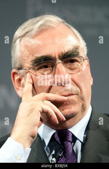 Theo Waigel, former finance minister, in Passau, Bavaria, Germany, Europe - Stock Image