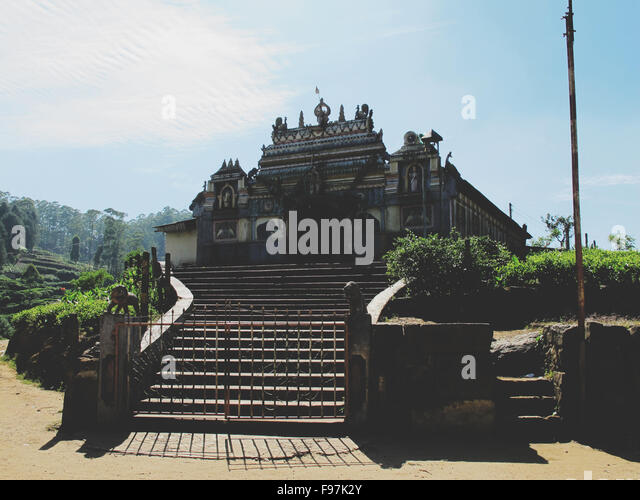 Gate Leading To Hinduism Temple - Stock Image