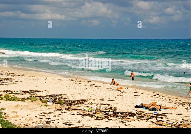 Mexico Cozumel Punta Sur beach - Stock Image