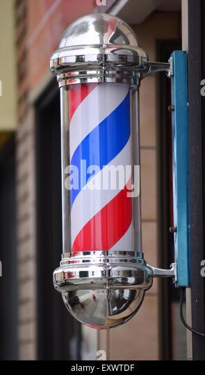Barber Joint : Barbershop Pole Stock Photos & Barbershop Pole Stock Images - Alamy