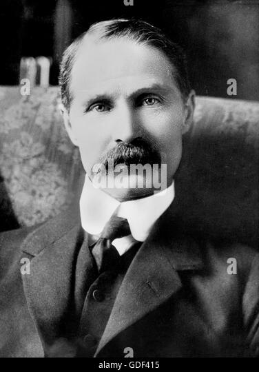 Andrew Bonar Law. Portrait of the British Conservative Prime Minister, from Bain News Service c.1916 - Stock Image