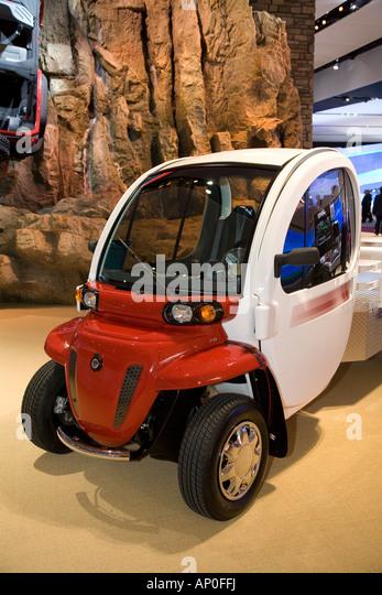 Jeep GEM eLXD electric car - Stock Image