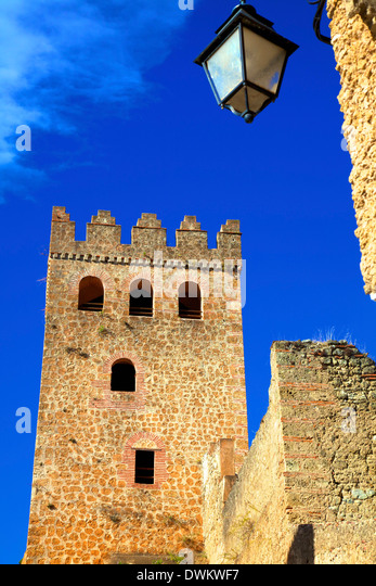 Historic Kasbah, Chefchaouen, Morocco, North Africa, Africa - Stock Image