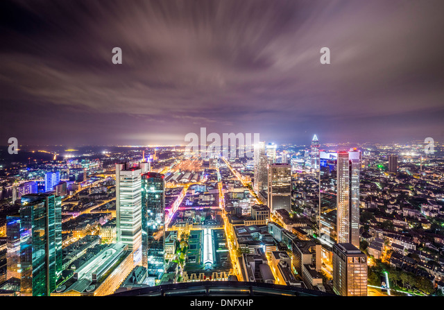 Frankfurt Germany - Stock Image