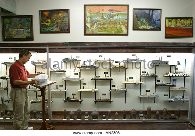 Mississippi Vicksburg Battlefield Museum world's largest Civil War gunboat model collection - Stock Image