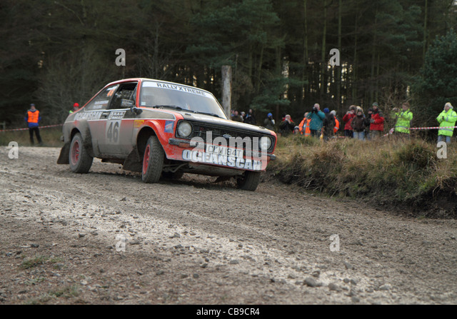 rally motor sport cars - Stock Image
