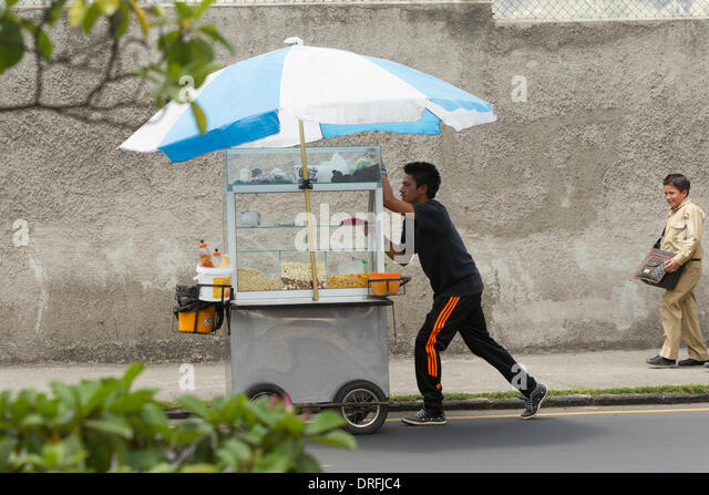 Seling Food On The Streets