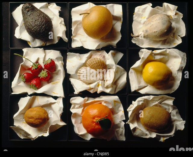 Variety of fruits - Stock Image