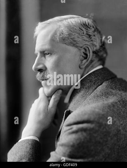 Ramsay Macdonald. Portrait of the British Labour party Prime Minister, James Ramsay MacDonald (1866-1937), from - Stock Image