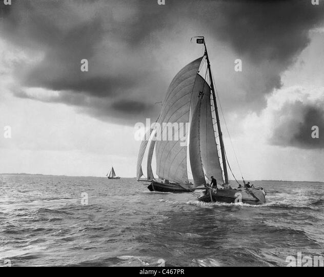 Sail, 1908 - Stock Image