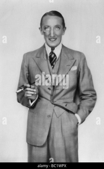 Claude Allister (1888-1970), English actor, 20th century. - Stock Image