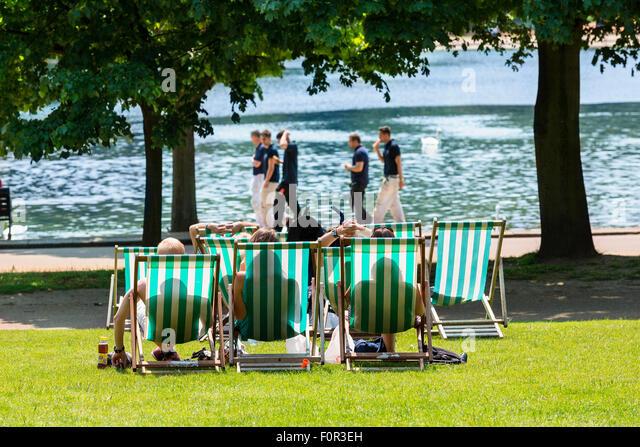 London, Hyde Park - Stock Image