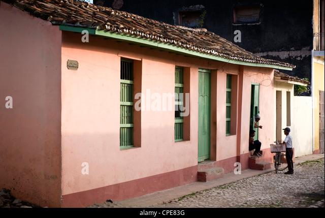 Trinidad, Cuba, West Indies, Central America - Stock Image