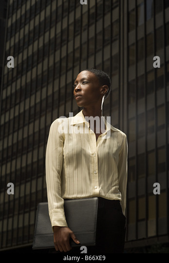 African businesswoman - Stock-Bilder