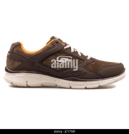 Skechers Equalizer Timepiece Brown Men's Running Shoes - 999669-BRN - Stock-Bilder