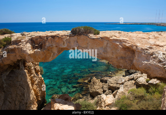 Cap Greco nearby Ayia Napa, Republic of Cyprus - Stock-Bilder