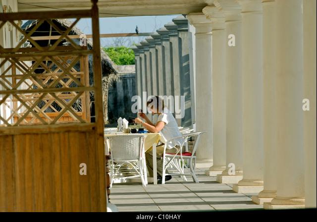 NEEMRANA HOTEL IN THARANGAMBADI TAMILNADU - Stock-Bilder