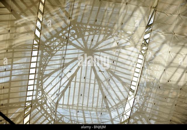 sunblind, sunscreen, Sonnenschutz, Dach, roof, housetop, glas, Glas, Tuch Fabric - Stock-Bilder
