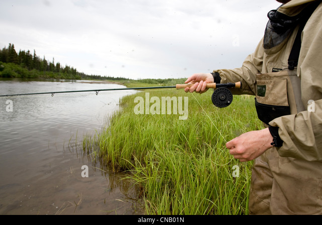 Flyrod stock photos flyrod stock images alamy for Fly fishing bay area