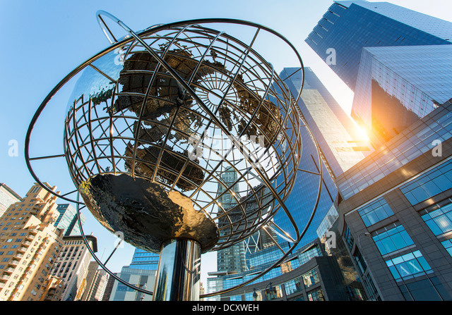 New York City, Columbus Circle - Stock Image