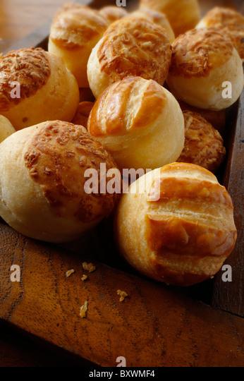 Mixed cheese and potato Pogacsa - traditional hungarian pogi - Stock Image