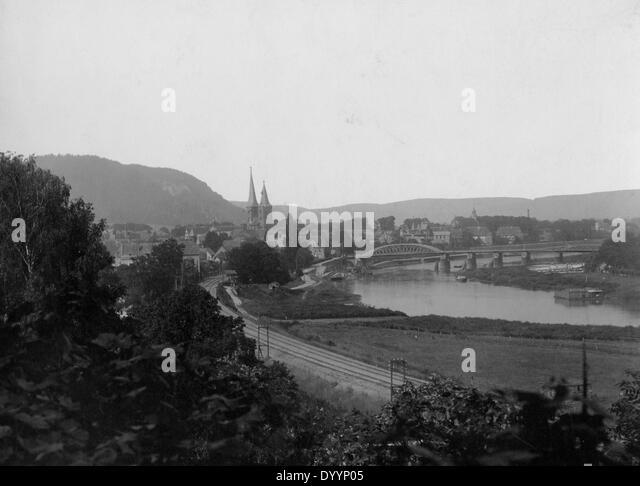Hoexter, 1908 - Stock Image