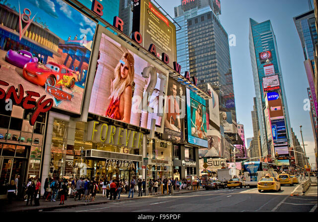 Times Square, New York - Stock Image