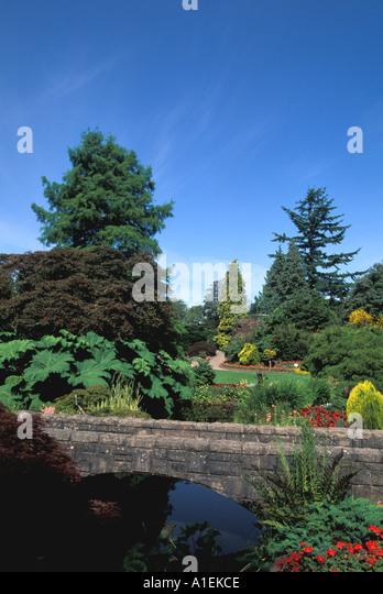 Vancouver Canada Queen Elizabeth Gardens - Stock Image