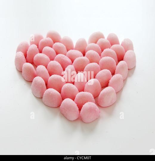 heart,gum drop - Stock-Bilder