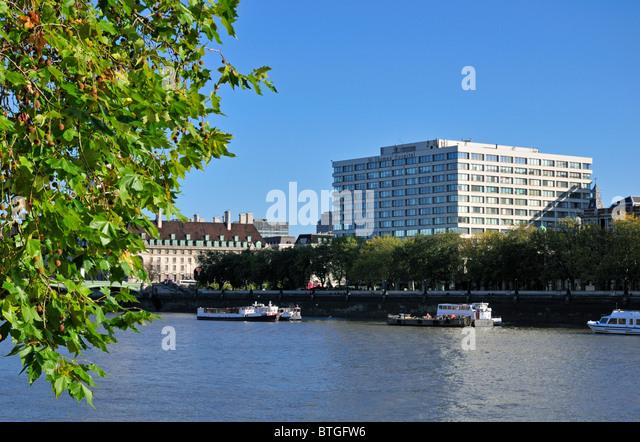 St. Thomas' Hospital, Westminster Bridge Road, London, SE1 7EH, United Kingdom - Stock Image