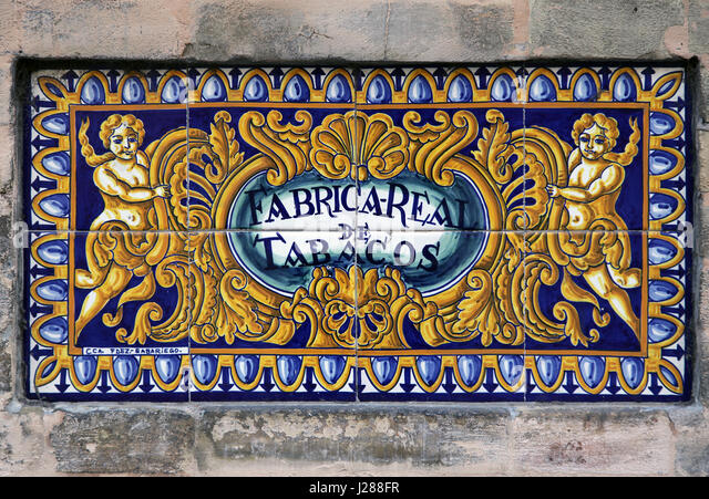 Fabrica de tabacos stock photos fabrica de tabacos stock for Fabrica de azulejos